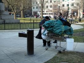 Una altra imatge malauradament freqüent a les nostres ciutats