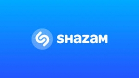 Logo de l'app Shazam.