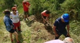 Voluntariat ambiental a Allinyà per la Setmana de la Natura