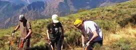 Voluntariat ambiental amb l'Associació Boscos de Muntanya per la Setmana de la Natura