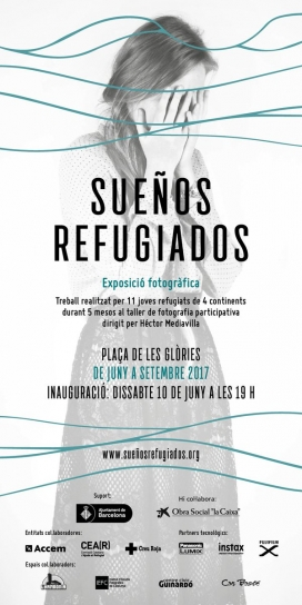 "Exposició fotogràfica ""Sueños refugiados""."