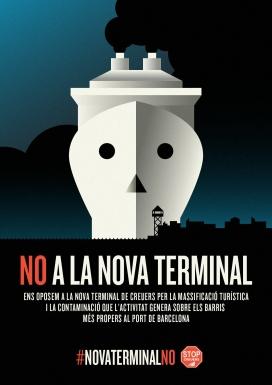 Les entitats demanen que l'aturada del projecte de la nova terminal de creuers de Barcelona