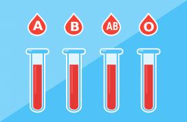 Diferents tipologies de sang.