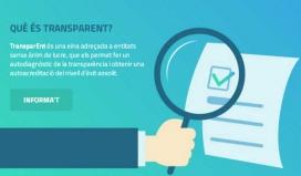 El Govern català continurà promovent la plataforma TransparENT per ajudar a les entitats a complir la normativa.