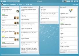 Captura de pantalla de Trello