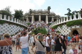 El Parc Güell, un dels punts amb més concurrència turística de Barcelona
