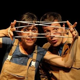 Ainhoa Roca i Albert Requena de Xucrut Teatre