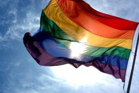 La bandera LGTBI
