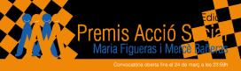Premis Acció Social Maria Figueras i Mercè Bañeras 2016