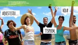 Banner de la pàgina web per animar a fer voluntariat. Font: COCAT