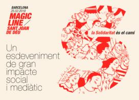Cartell de la Magic Line Barcelona 2018