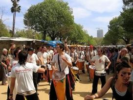 Batucada a la Ciutadella per Sant Jordi 2005 (Foto: Jordi Armengol|Flickr)
