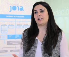 Beatriz castillo, responsable de comunicació i RSC de Fundació Joia.
