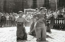 Cursa de sacs l'any 1960