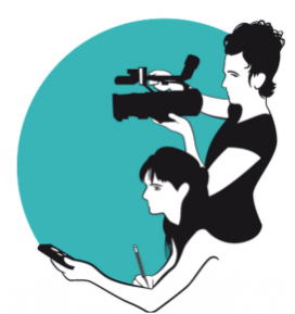 Logo de la Beca Devreporter. Font: Justícia i Pau