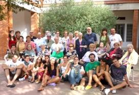 Estada a Begues el passat estiu de 2009 (Fundació Amics de la Gent Gran)