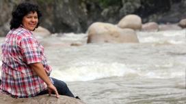 El Festival vol fer un homenatge a Berta Cáceres, activista per la defensa dels rius i les poblacions indígenes, assassinada al març de 2016 (imatge:goldmanprize.org)