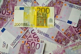 Bitllets de 200 i 500 euros