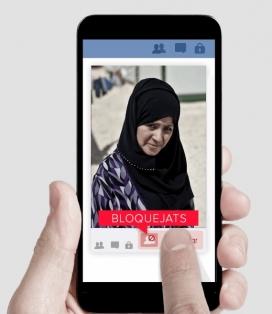 Liquua va tenir el seu nadó al camp de refugiats sirians de Zaatari (Jordània).