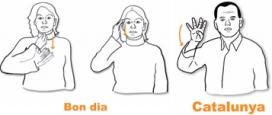 Imatge del Portal de la Llengua de Signes Catalana