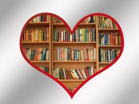 Llibres dins un cor. Autor: geralt a Pixabay