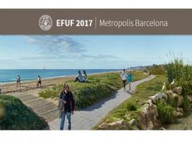 Les infraestructures verdes agafen protagonisme en la visió de la ciutat del segle XXI (imatge: efuf2017.amb.cat)