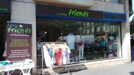 Botiga Friends, centre especial de treball de la Fundació Friends. Font: Fundació Friends