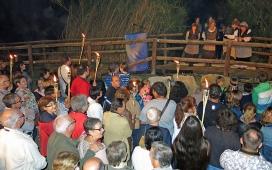 """Espectacle teatral """"Les bruixes del Pont de Boc (Lleida, 8 octubre)."""