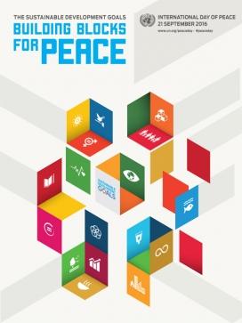 Cartell del Dia Internacional de la Pau 2016. Font: www.un.org