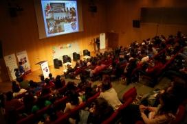 Les taules rodones van omplir l'auditori del CosmoCaixa els dies 3 i 4 de maig