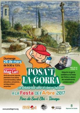 Per primera vegada la Festa de l'Arbre tindrà un caràcter solidari i emmarcarà la festa del Posa't la Gorra (Font: posatlagorra.org)