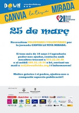 Down Lleida necessita persones voluntàries per realitzar les diferents activitats i acompanyar als joves en la captació de fons. (Font: downlleida.org)