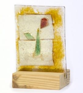 Rosa de vidre de la Fundació Arrels