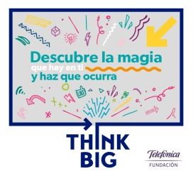 Think Big. Font: Plana web de Think Big