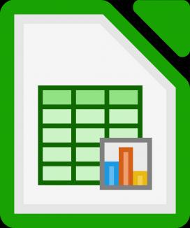El Calc del paquet LibreOffice pot ser un bona programa de comptabilitat per entitats petites.