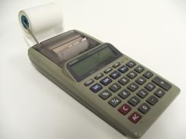 Fotografia d'una calculadora
