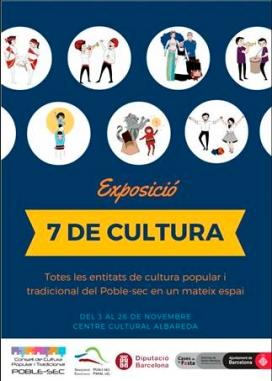 Cartell de l'exposició '7 de cultura' / Foto: El Castelloscopi