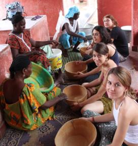 Camp de solidaritat al Senegal. Font: Setem Catalunya