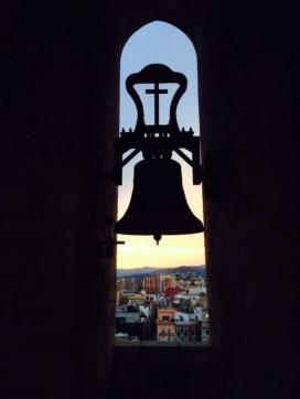 Vistes des del campanar. Foto: Campaners de Reus.