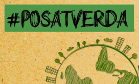 Campanya #PosatVerda del Consell de la Joventut de Barcelona per Dia del Medi Ambient