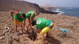 Camp de treball a la illa de La Graciosa amb WWF (imatge: wwf)