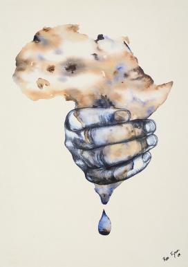 Canvi climàtic. Imatge CC d'Oxfam International (Flickr)
