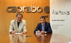 Caprabo i AMPANS signen acord per obrir un supermecat gestionat per persones amb discapacitat