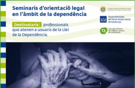 Els seminaris s'impartiran a Girona, Manresa, Lleida, Barcelona i Reus / Font: Taula Entitats Tercer Sector