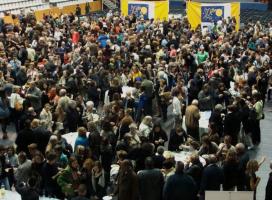 Imatge del sopar de l'edició 2014.  Font: FCVS