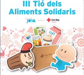 Cartell del III Tió dels Aliments Solidaris