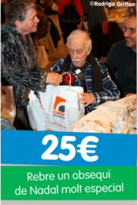 Campanya de donatius econòmics d'Amics de la Gent Gran