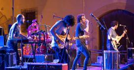 El grup Pearson en concert.    Font: Altafulla Bloc