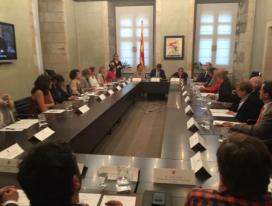 Trobada per la constitució del CODISCAT (Font: Generalitat de Catalunya)