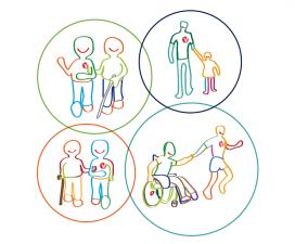 El programa pretén fomentar el voluntariat de proximitat creant una xarxa entre les persones voluntàries, les persones usuàries i tots els agents del barri implicats (Font: voluntaris.cat)